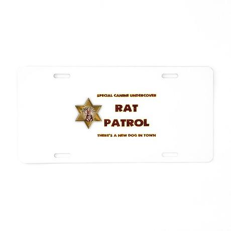 Rat Patrol Aluminum License Plate