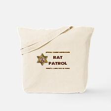 Rat Patrol Tote Bag