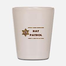 Rat Patrol Shot Glass