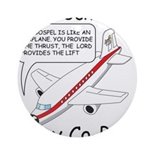 Cute Funny lds Ornament (Round)