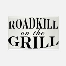 Roadkill on the Grill BBQ Rectangle Magnet