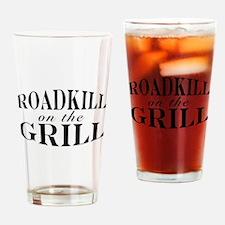 Roadkill on the Grill BBQ Pint Glass