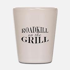 Roadkill on the Grill BBQ Shot Glass
