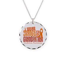 I Wear Orange 6.4 Leukemia Necklace