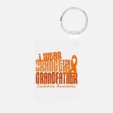 I Wear Orange 6.4 Leukemia Keychains