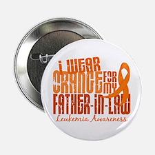 """I Wear Orange 6.4 Leukemia 2.25"""" Button"""