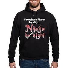 Saxophone Ninja Hoodie