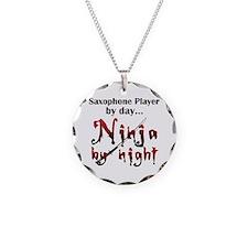 Saxophone Ninja Necklace