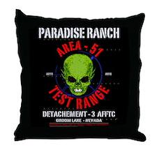 AREA -51 Throw Pillow