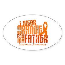 I Wear Orange 6.4 Leukemia Decal