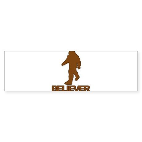 Big Foot Believer Sticker (Bumper)