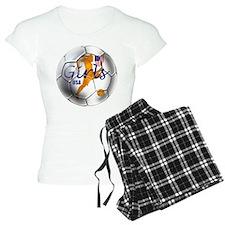 US Girls Soccer Ball Pajamas