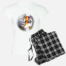 US Girls Soccer Ball Pajamas