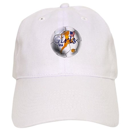US Girls Soccer Ball Cap