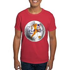 US Girls Soccer Ball T-Shirt