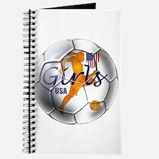 US Girls Soccer Ball Journal