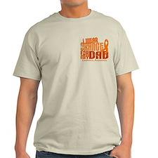 I Wear Orange 6.4 Leukemia T-Shirt