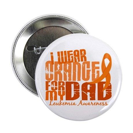 "I Wear Orange 6.4 Leukemia 2.25"" Button"