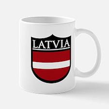 Latvia Patch Mug
