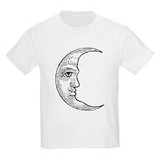 Vintage Crescent Moon T-Shirt