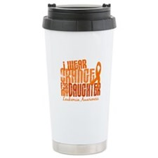 I Wear Orange 6.4 Leukemia Travel Mug