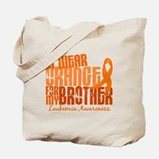 I Wear Orange 6.4 Leukemia Tote Bag
