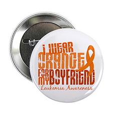 "I Wear Orange 6.4 Leukemia 2.25"" Button (10 pack)"