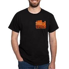 I Wear Orange 6.4 Leukemia Tee-Shirt