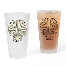 Sea Scallop Shell Pint Glass