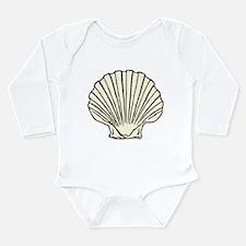 Sea Scallop Shell Onesie Romper Suit
