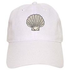 Sea Scallop Shell Baseball Baseball Cap