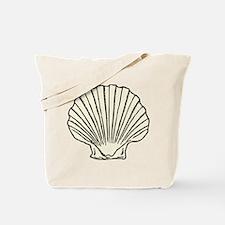 Sea Scallop Shell Tote Bag
