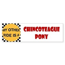 My Other Ride Is A Chincoteague Pony Bumper Sticke