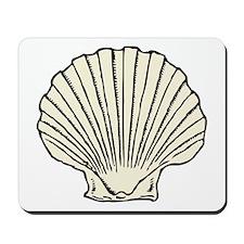 Sea Scallop Shell Mousepad