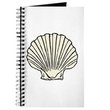 Sea Scallop Shell Journal