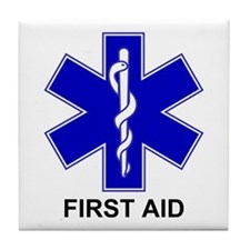 BSL - First Aid Tile Coaster