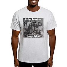 Border Patrol Ash Grey T-Shirt