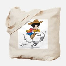 Mutton Buster Tote Bag