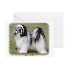 Tibetan Terrier 9Y407D-232 Greeting Card