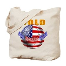 US Soccer Gold Tote Bag