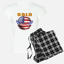 US Soccer Gold Pajamas
