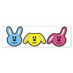 Bunnies Sticker (Bumper 50 pk)