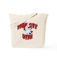 Park City Snowboarder Tote Bag