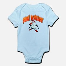 Sun Valley Snowboarder Infant Bodysuit