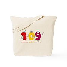 Happy Number 109 Tote Bag