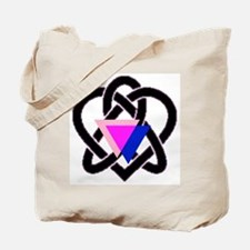 celtic heart Tote Bag