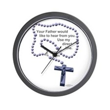 Love Mom - Wall Clock