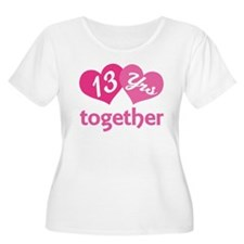 13th Anniversary Hearts T-Shirt