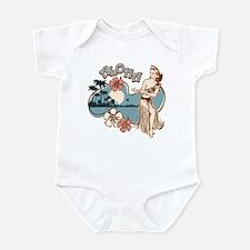 Aloha Hula Girl Infant Bodysuit