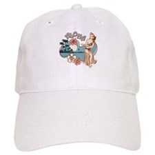 Aloha Hula Girl Baseball Baseball Cap